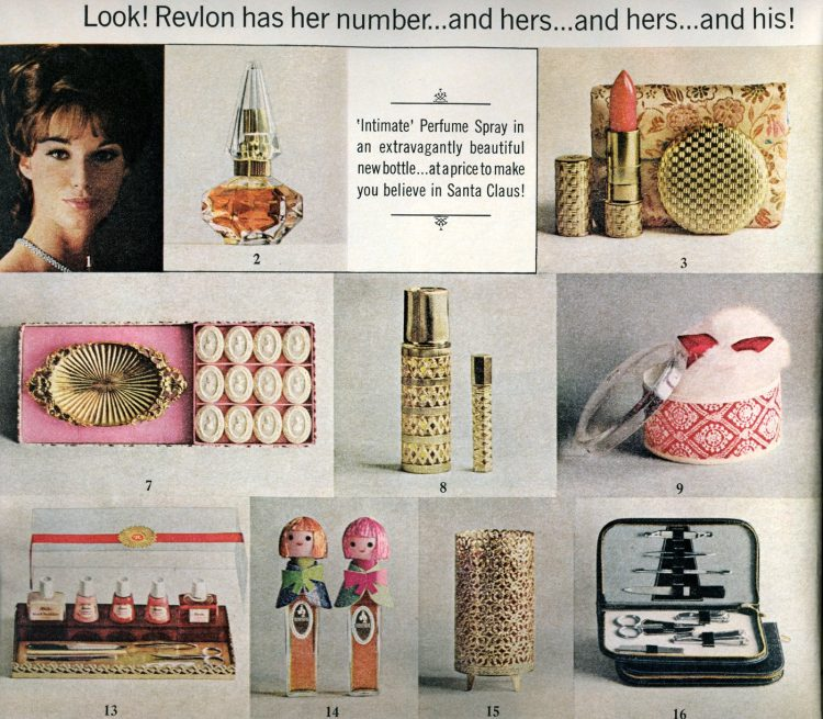 Vintage cosmetic gift sets from 1964 (2)