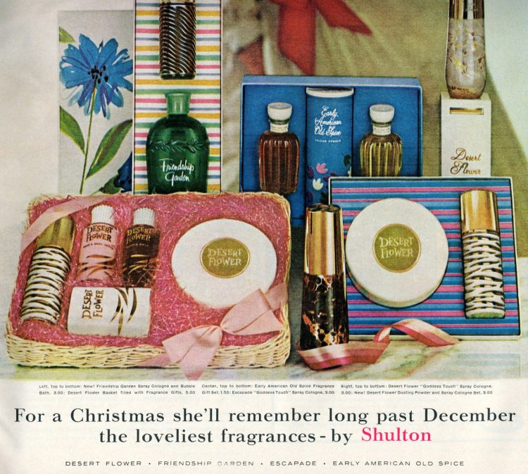 Vintage cosmetic gift sets from 1964 (3)