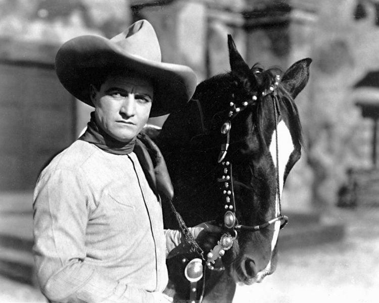 Vintage cowboy actor Tom Mix - Silent film era (3)
