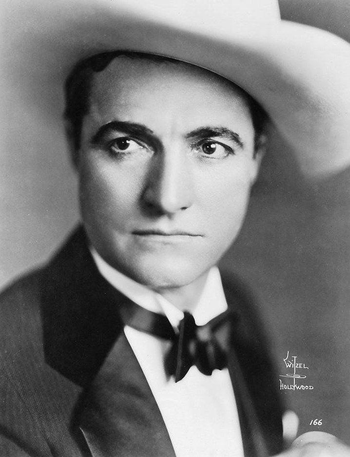Vintage cowboy actor Tom Mix - Silent film era (4)