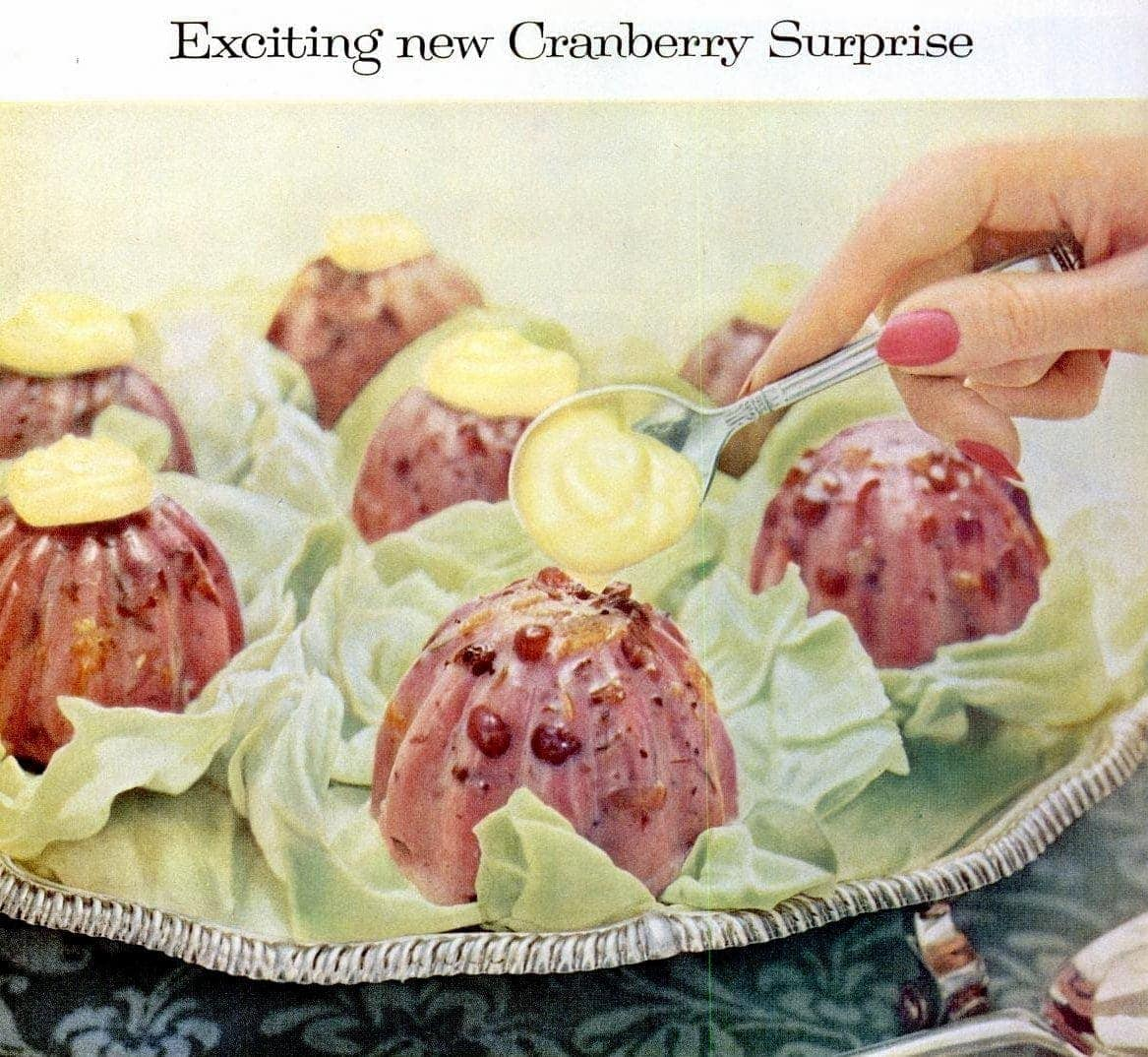Old Fashioned Cranberry Souffle Salad Recipes From The 50s Click Americana