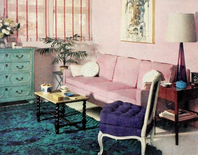 Vintage decor - Curtains and drapes from the 50s (2)