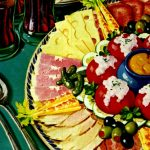Vintage deli meat meal ideas from the 50s