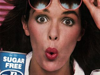 Vintage diet sodas - Dr Pepper