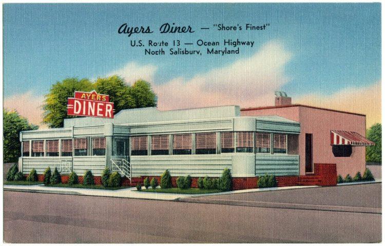 Vintage diners - Ayers Diner - Maryland