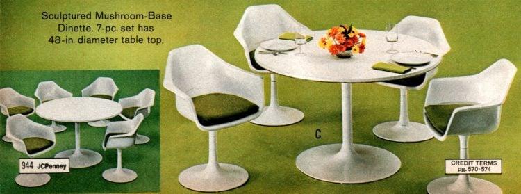 Vintage dinette sets from 1973 (1)