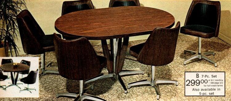 Vintage dinette sets from 1973 (3)