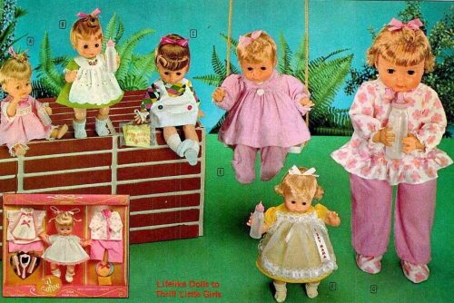 Vintage dolls from 1969