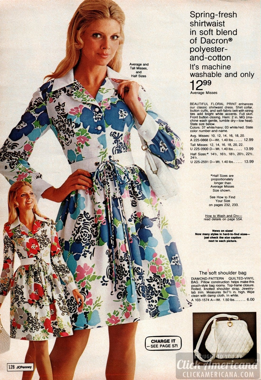 Vintage dresses - Women's fashion from 1973