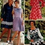 Voile dresses in sheer, cool, summery styles - purple with pleats, poppy print, check pattern and denim blue dress
