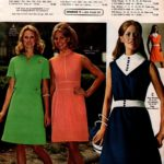 Classic, fitted dresses with buttons, plus an A-line dress with button-and-tab trim at waist