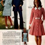 Plaid jacket dresses, solid-color pants set with contrast piping, easy-fitting coat dress in seersucker