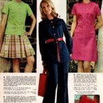 Button-front jacket with plaid skirt, versatile A-line dress and pantsuit with chic tie belt