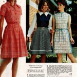 Easy-care machine-washable broadcloth dresses - woven plaid, and floral prints