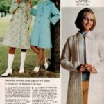 Textured coats and sweaters for women - cardigans from the '70s