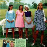 Vintage maternity dresses from the '70s - Kim Basinger modeling