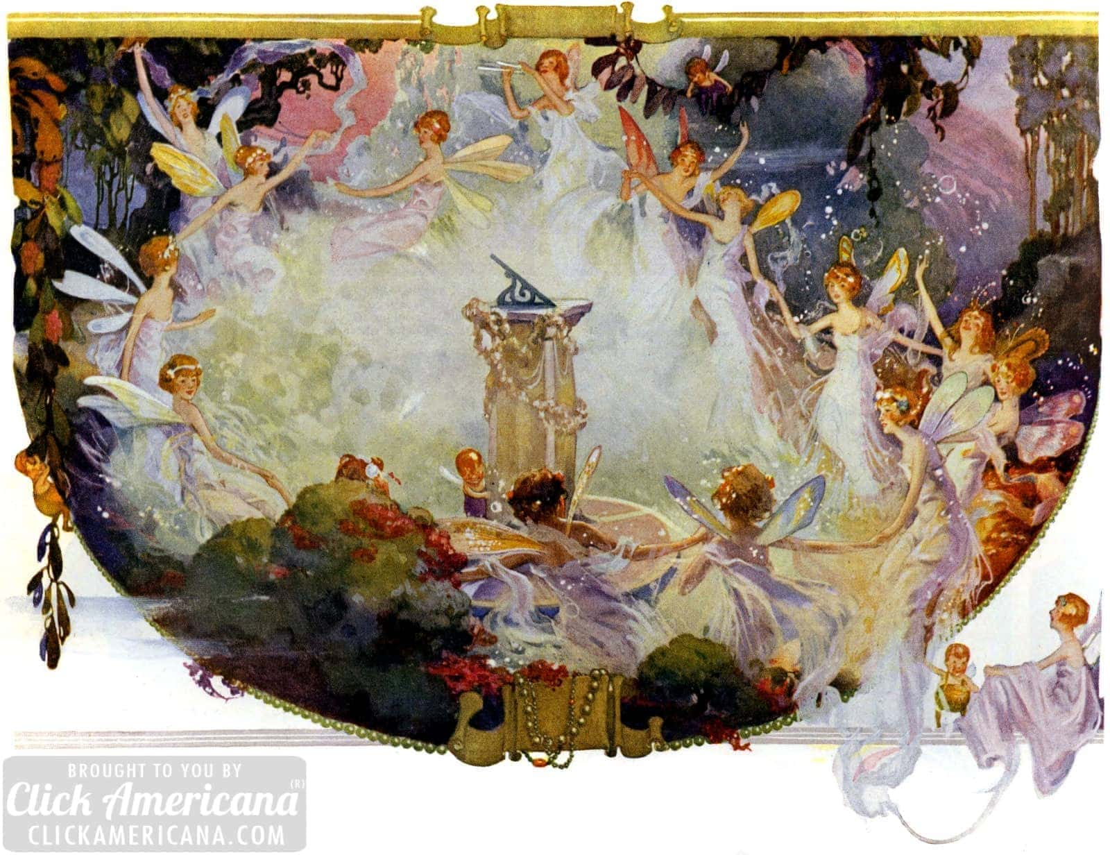 Beautiful Fanciful Vintage Fairies Fantasy Amp Fairy Art