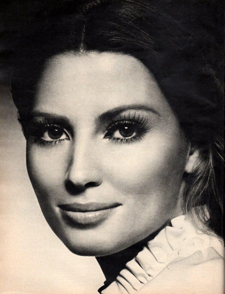 Vintage false eyelashes from 1970