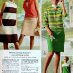 Dresses plus skirts and jackets: Newsy young shapes in eye-catching colors