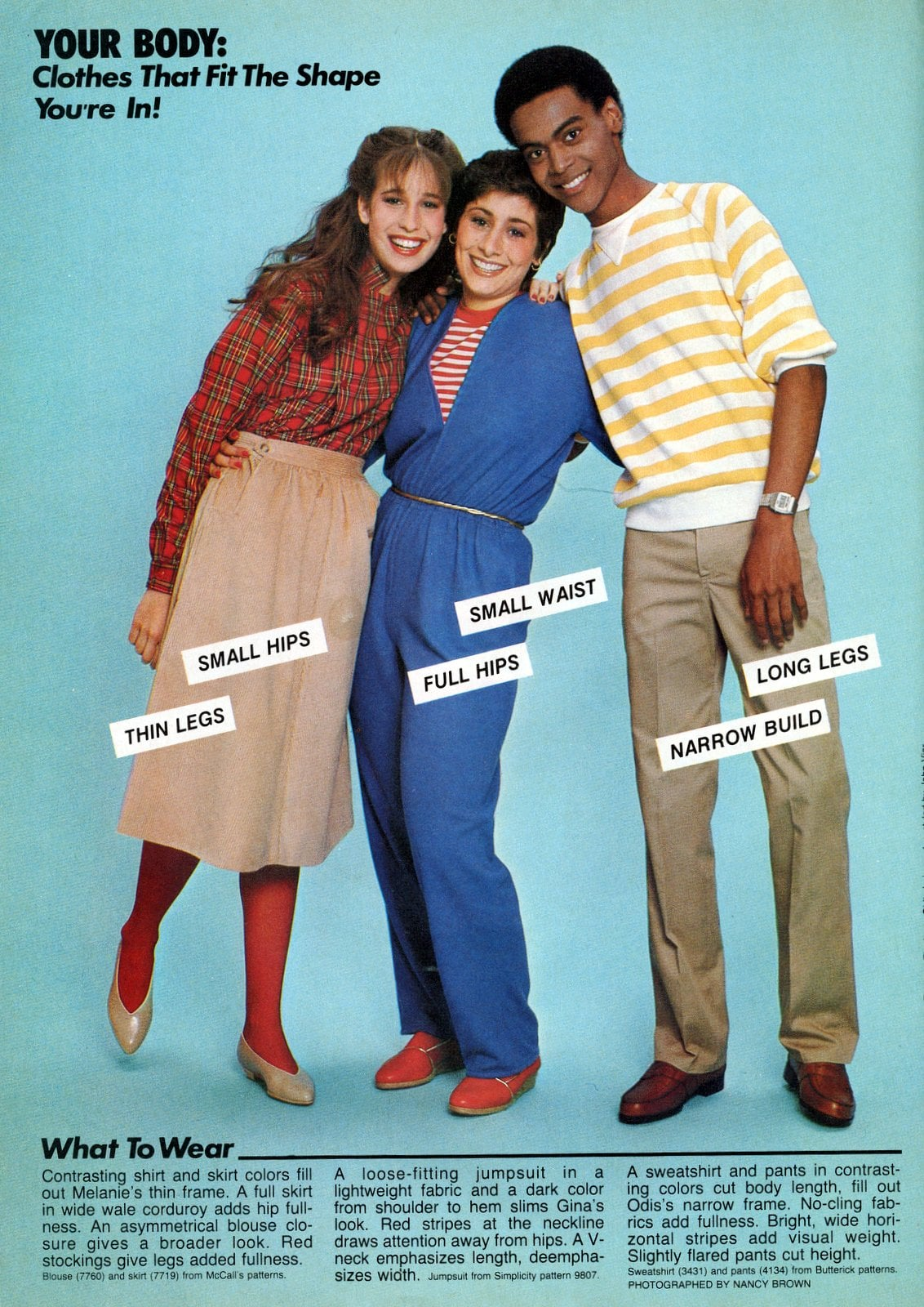Vintage fashion tips for teens from 1982 (1)