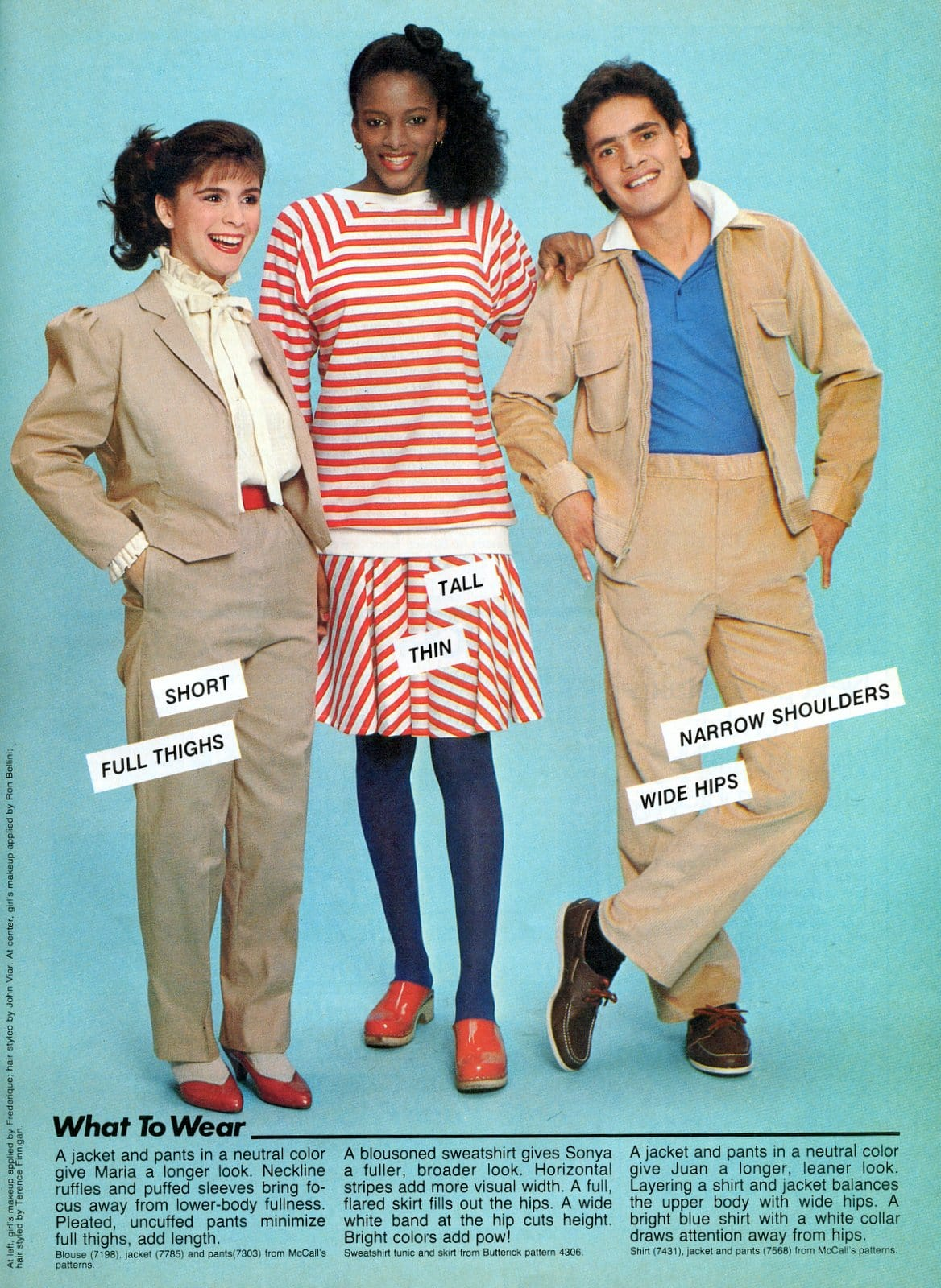 Vintage fashion tips for teens from 1982 (3)