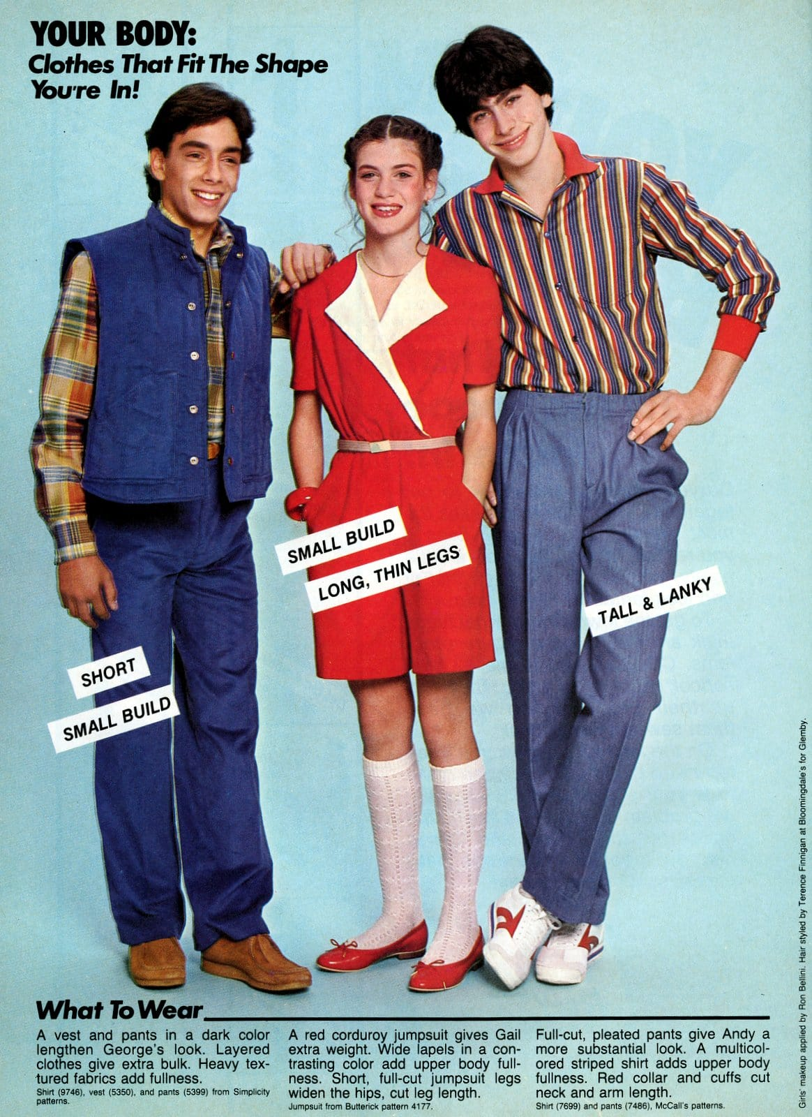 Vintage fashion tips for teens from 1982 (4)