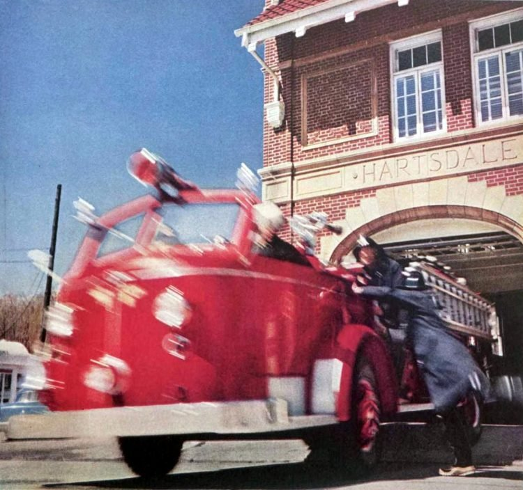Vintage fire truck from 1956