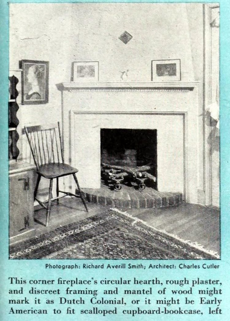 Vintage fireplaces from the 1940s (5)