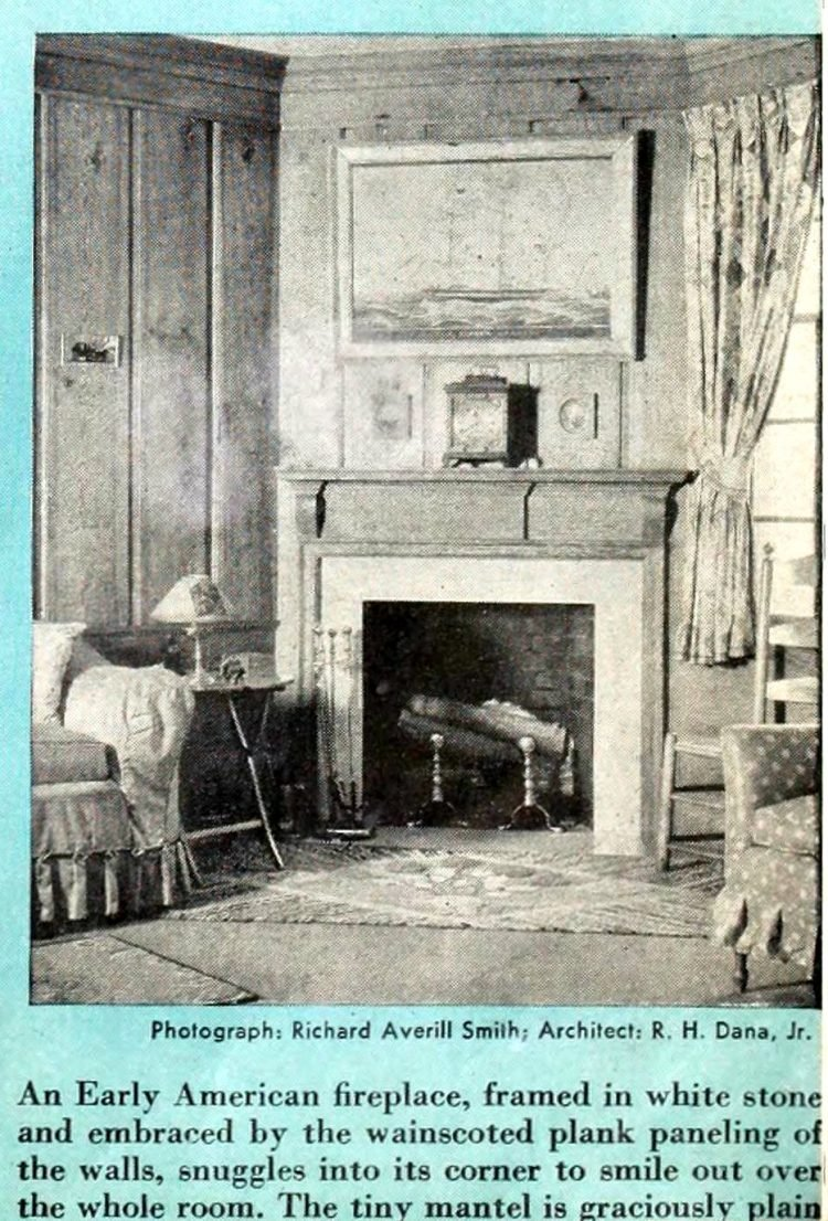 Vintage fireplaces from the 1940s (7)