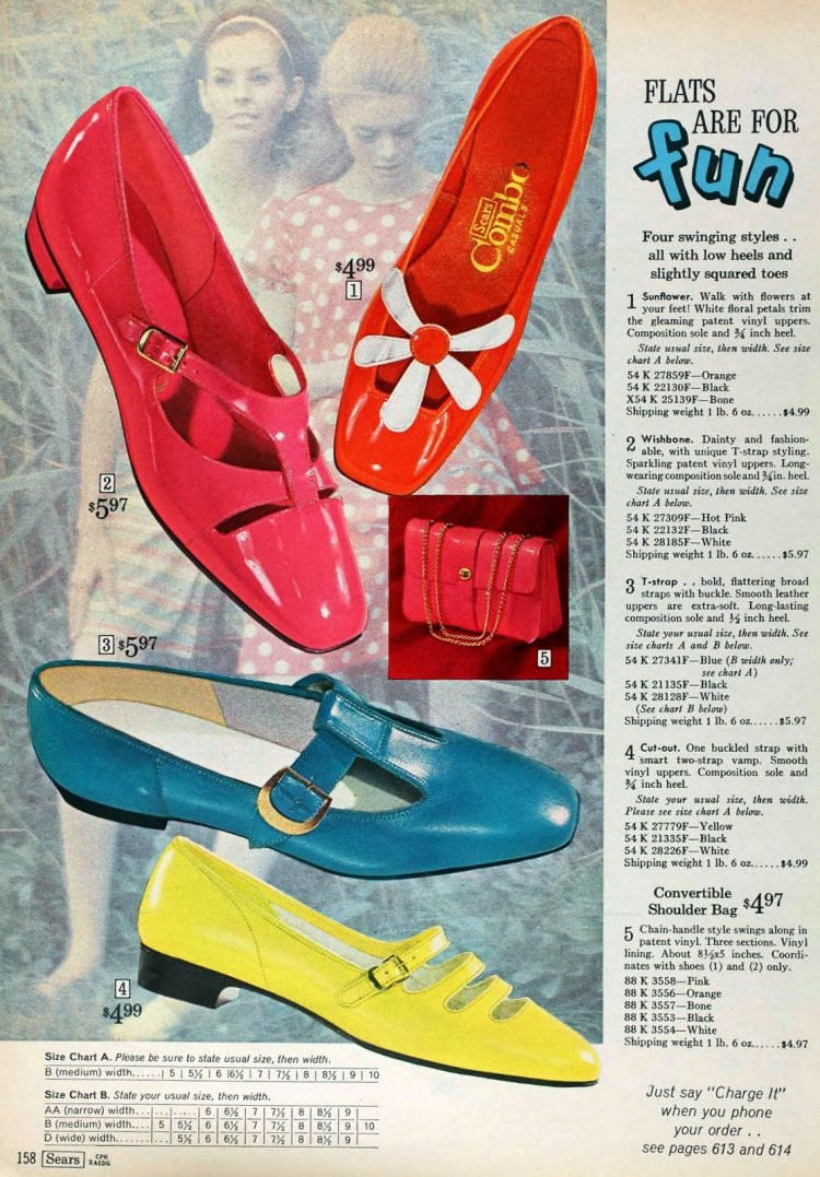 Vintage flat shoes from 1968 (1)