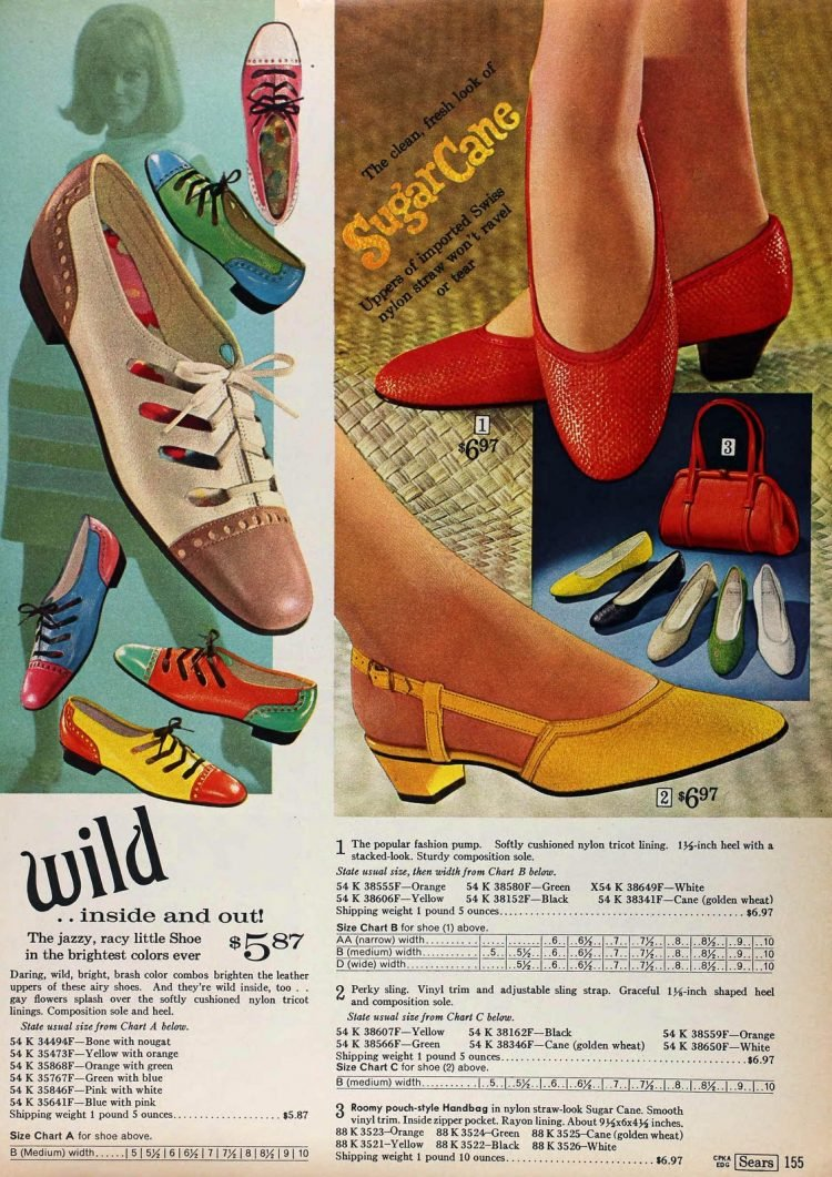 Vintage flat shoes from 1968 (2)
