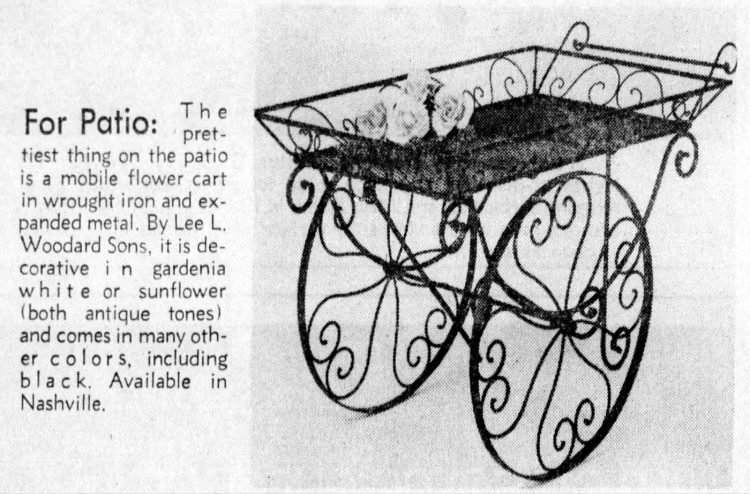 Vintage flower carts from the 50s 60s 70s (1)