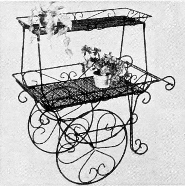 Vintage flower carts from the 50s 60s 70s (3)