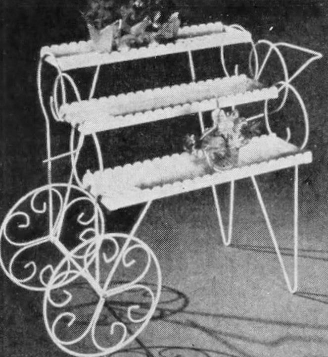 Vintage flower carts from the 50s 60s 70s (4)