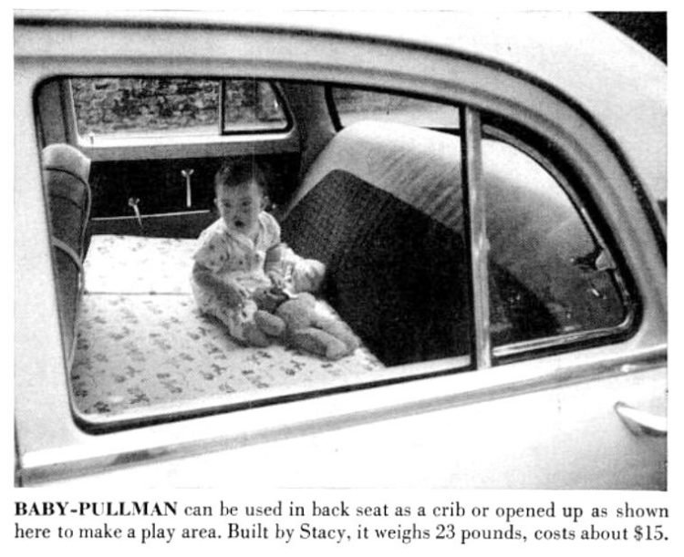 Vintage fold-away gear from 1955 BABY-PULLMAN