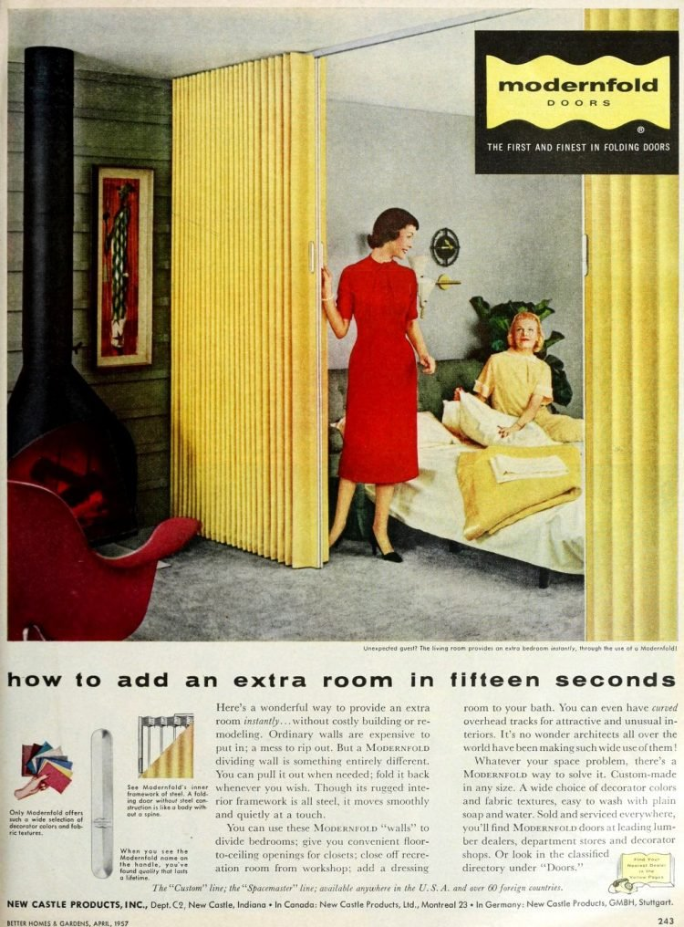 Vintage folding doors from 1957 (1)