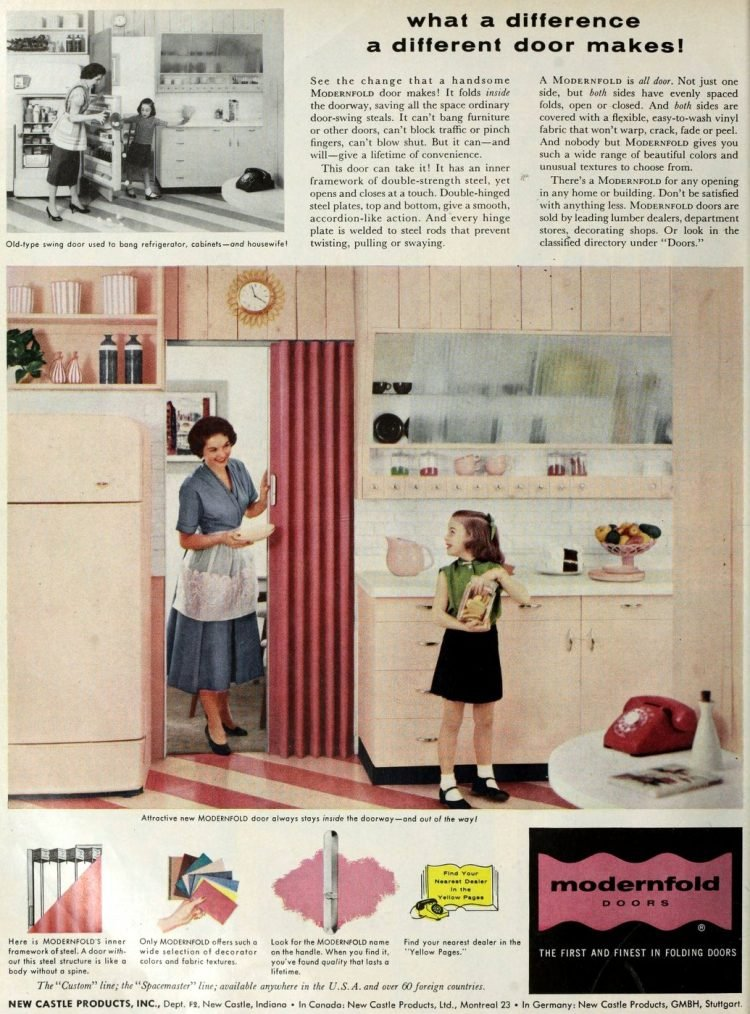 Vintage folding doors from 1957 (2)