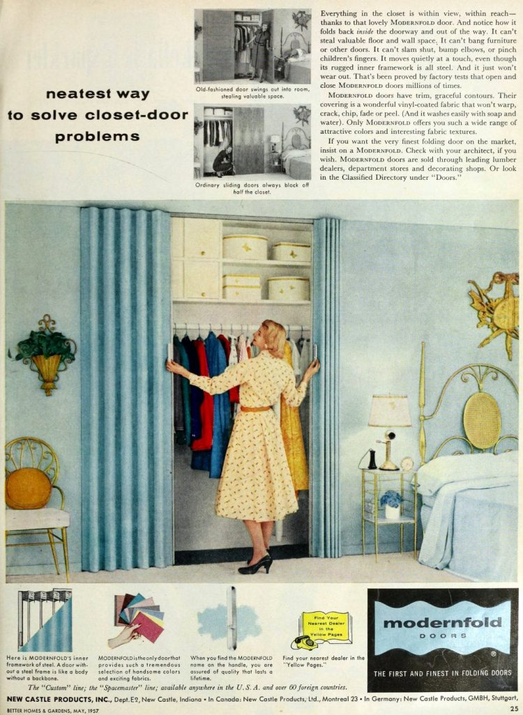 Vintage folding doors from 1957 (3)