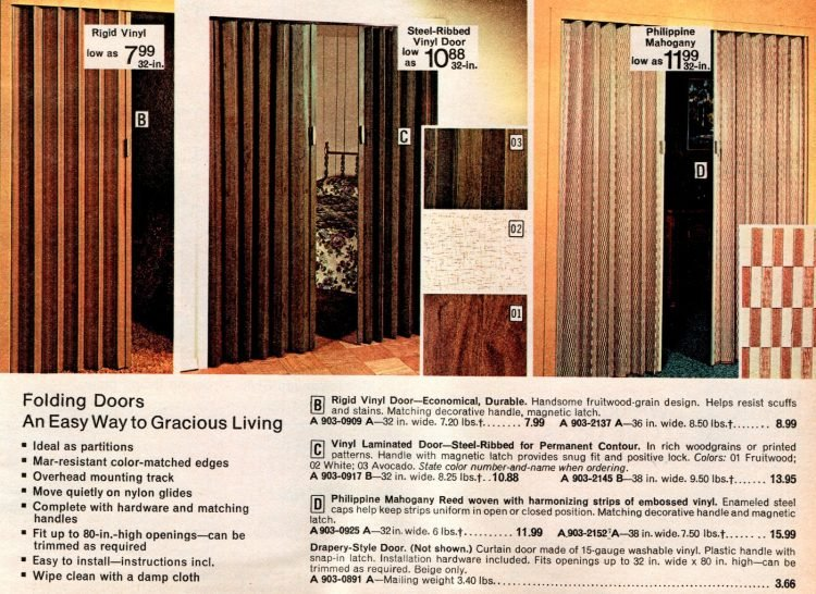 Vintage folding doors from the 70s (2)