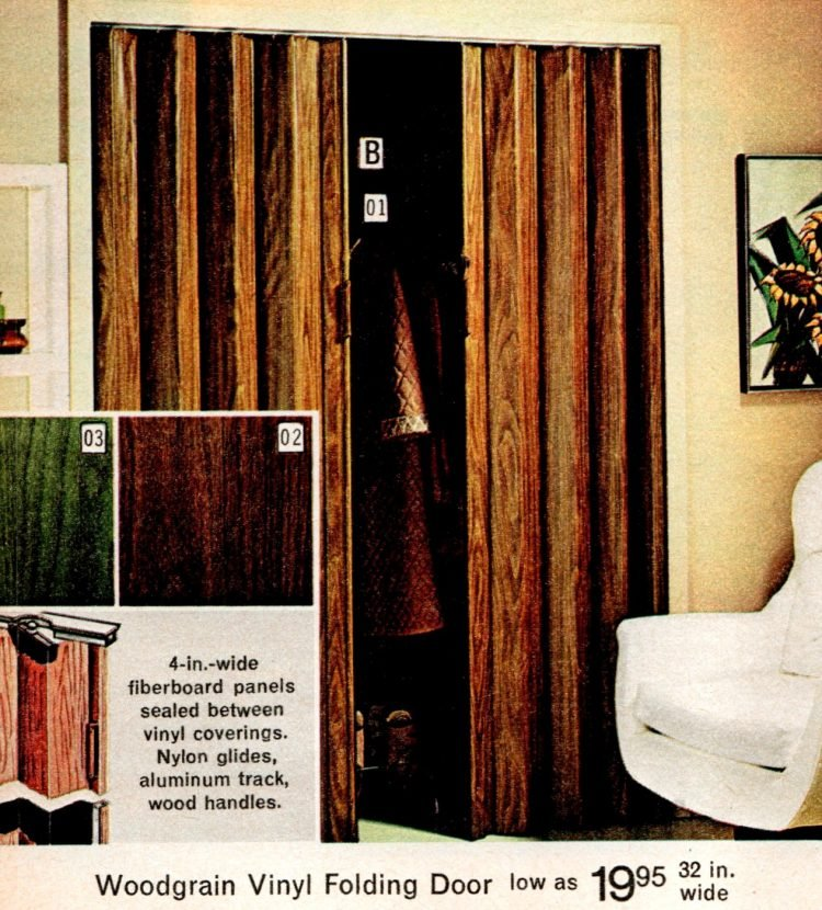 Vintage folding doors from the 70s (4)