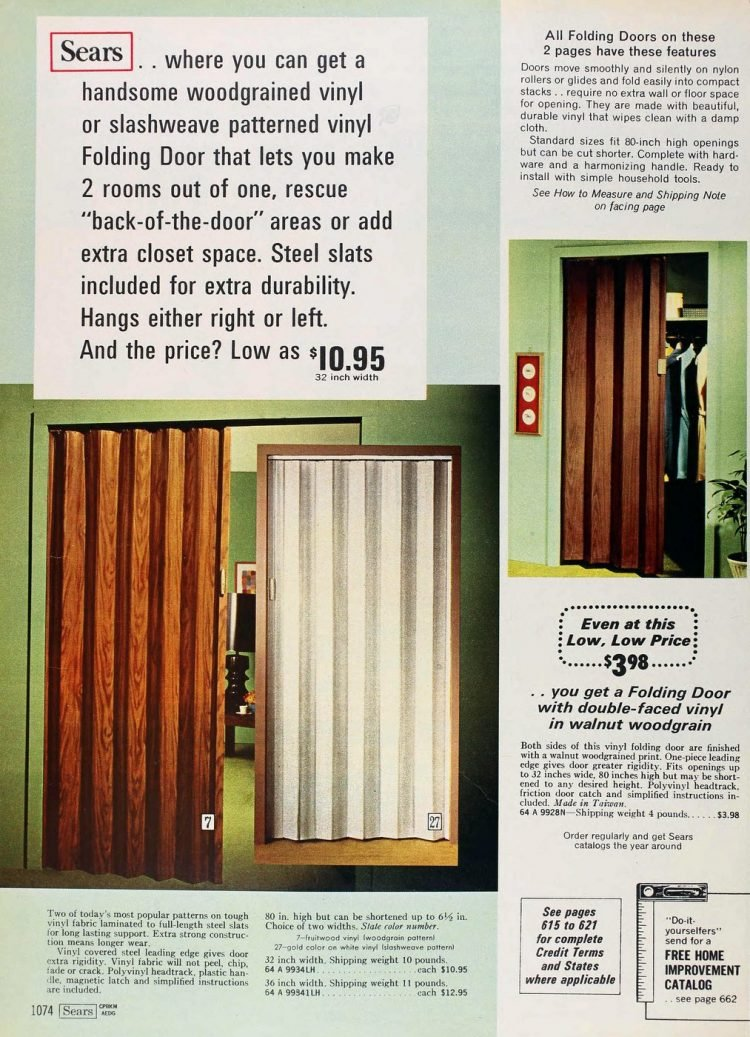 Vintage folding doors from the 70s (6)