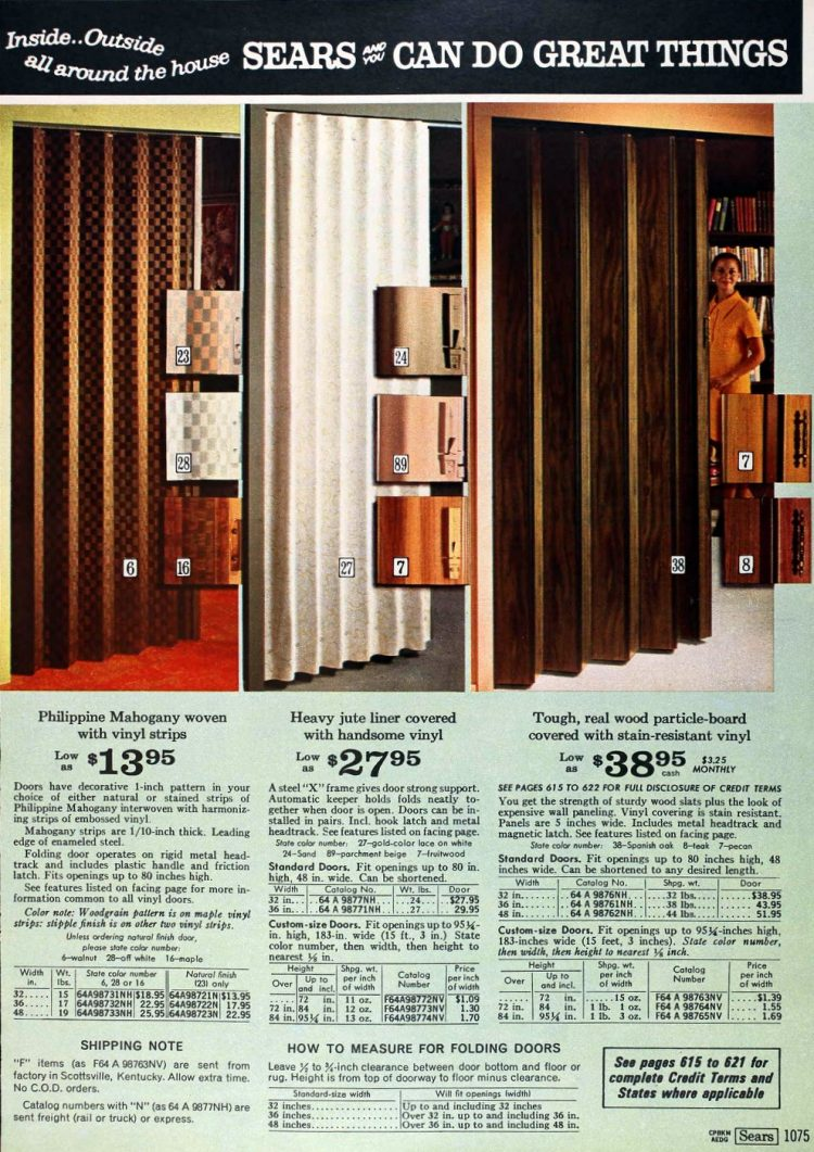 Vintage folding doors from the 70s (7)