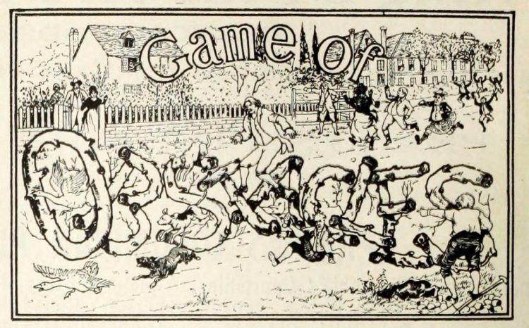 Vintage game - Game of Obstacles