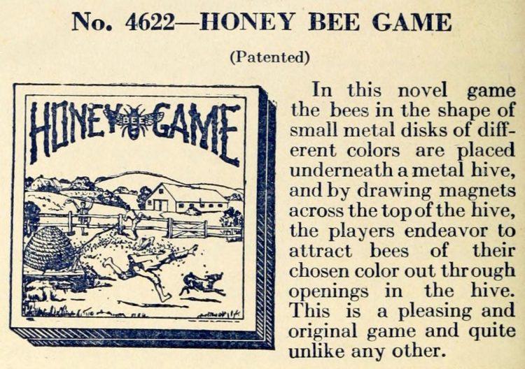 Vintage game - Honey Bee Game