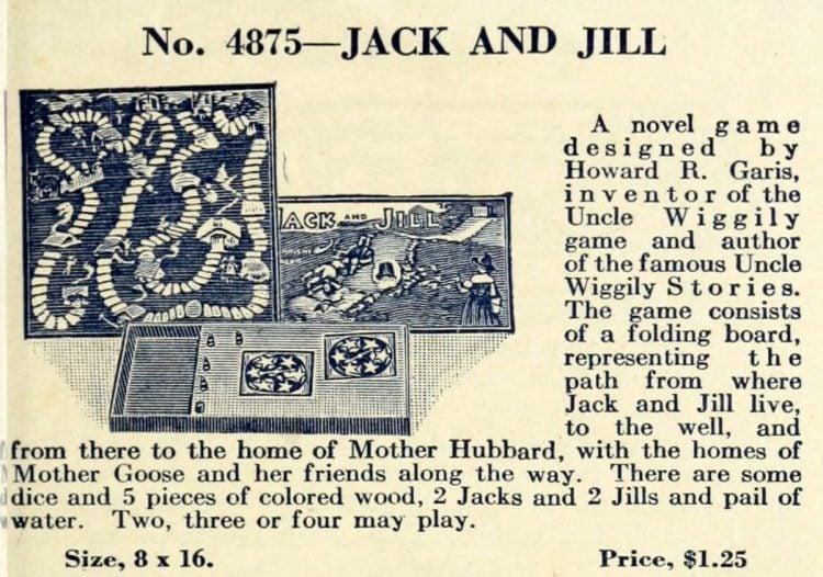 Vintage game - Jack and Jill