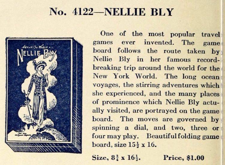 Vintage game - Nellie Bly