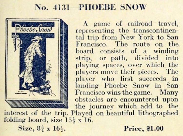 Vintage game - Phoebe Snow
