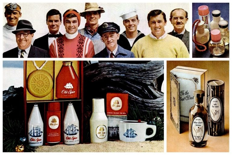 Vintage gift sets for men