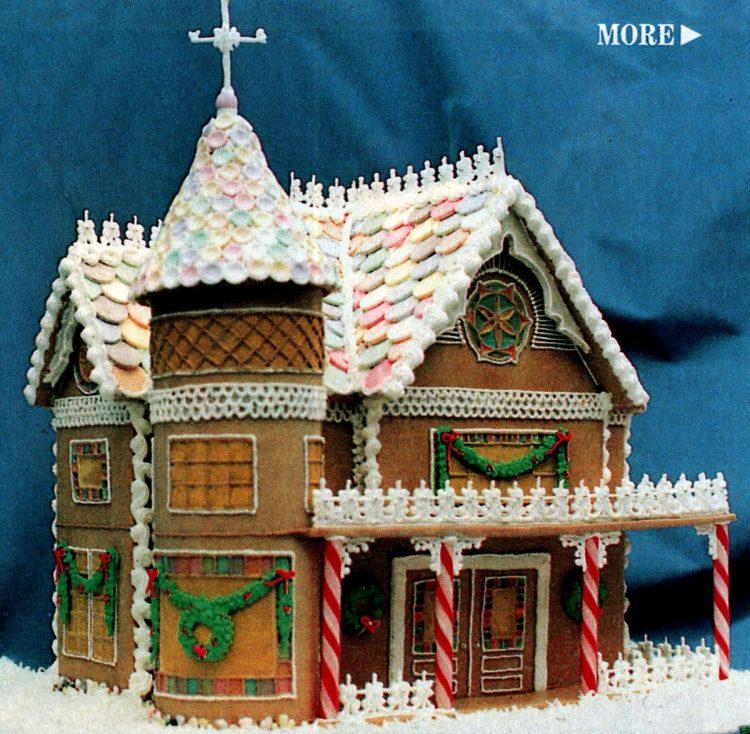 Vintage gingerbread houses (10)