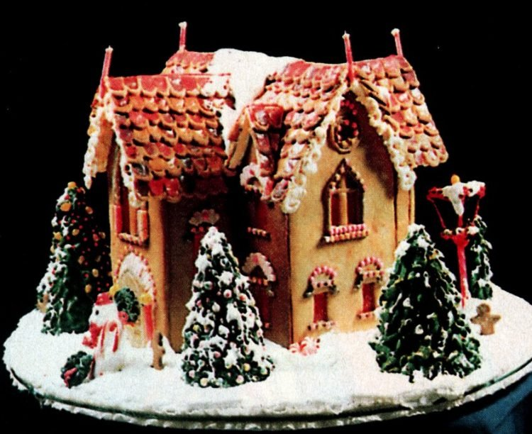 Vintage gingerbread houses (11)